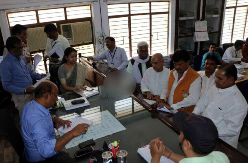 Election 2019: भाजपा प्रत्याशी गणेश सिंह ने दाखिल किया नामांकन, पूर्व सीएम शिवराज भी पहुंचे सतना