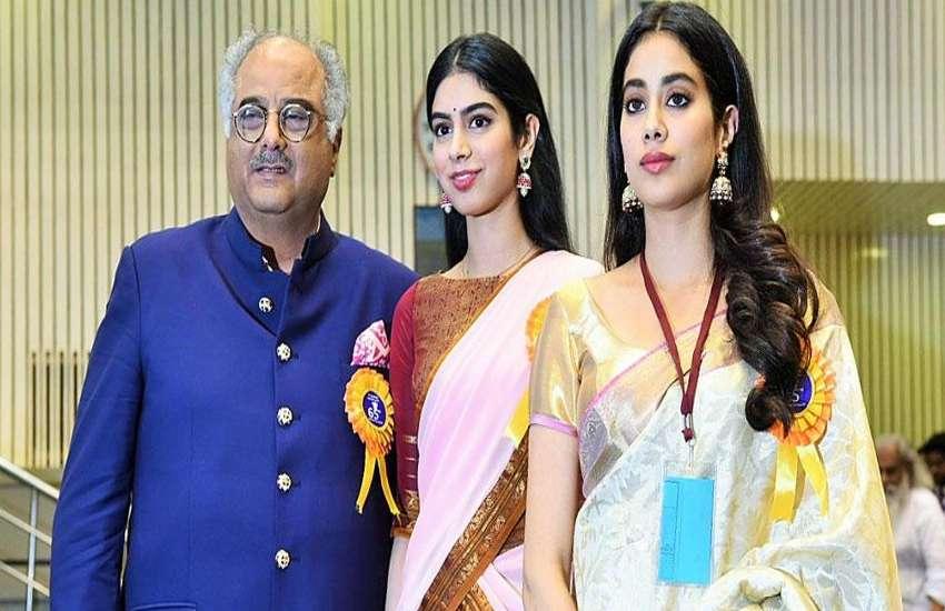 Jhanvi Kapoor Sridevi Khushi Kapoor Boney Kapoor