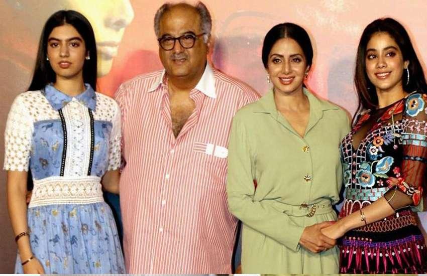 Jhanvi-Kapoor-Sridevi-Khushi-Kapoor-Boney-Kapoor