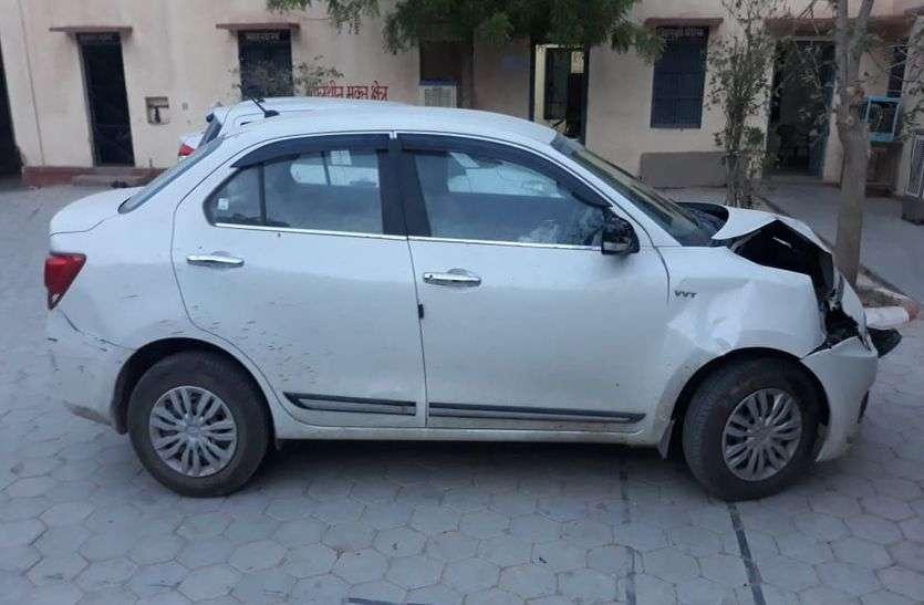 दो दिन पहले कार चोरी, आरोपी धरा गया