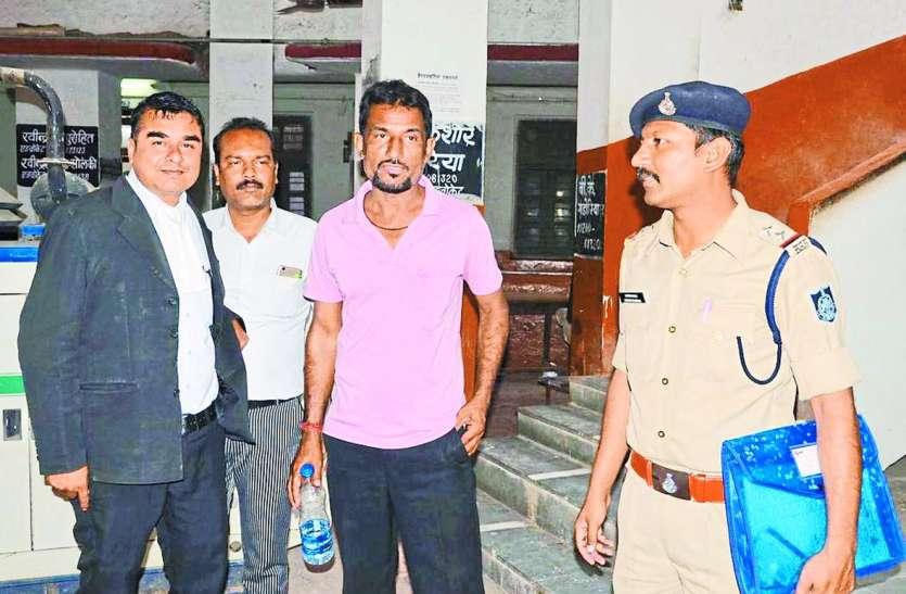 कुंदन कुटीर मामला: कोर्ट में पेश होने आया था वीडियो बनाने वाला अभिभाषक, पुलिस को लगी खबर वहीं से किया गिरफ्तार