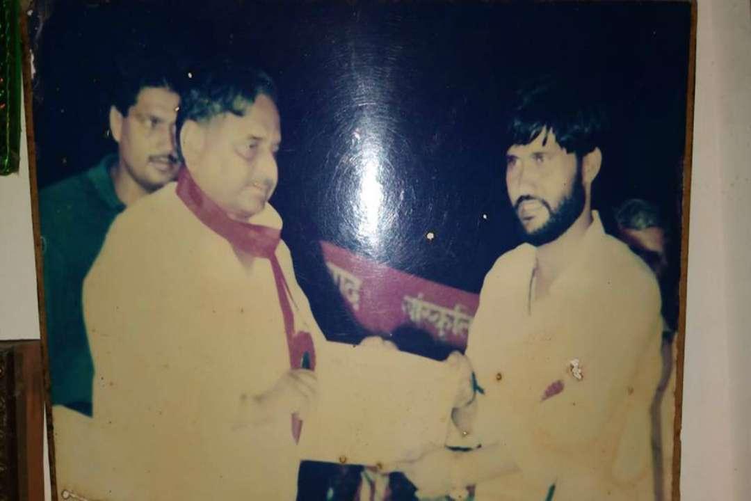 Vijay lal Yadav Mulayam Singh Yadav