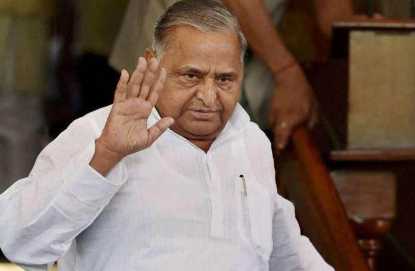 मुलायम सिंह यादन ने सपा कार्यालय में कार्यकर्ताओं से कही बड़ी बात