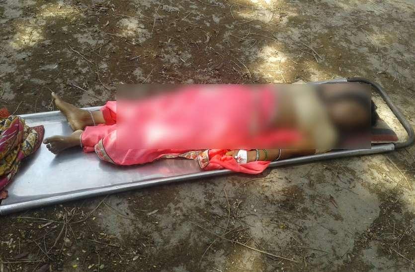 पति के सामने नवविवाहिता पत्नी की हो गई मौत, कोख में पल रहा था 5 माह का बच्चा, पसरा मातम