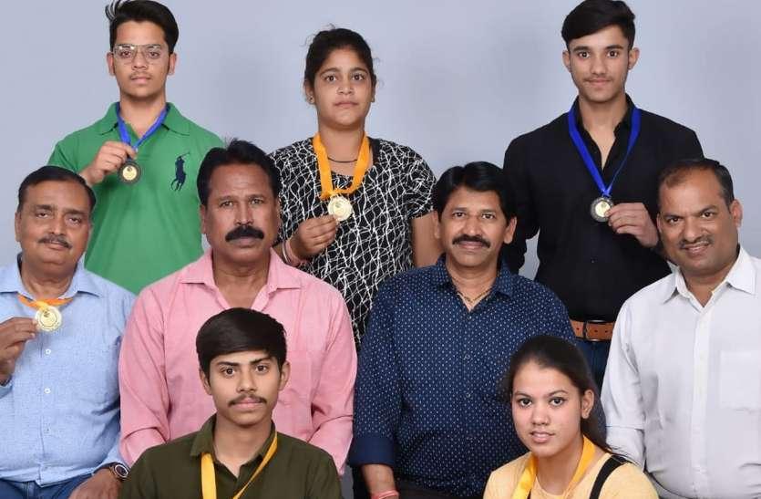 दौसा में उदयपुर के खिलाडिय़ों ने जीते स्वर्ण पदक