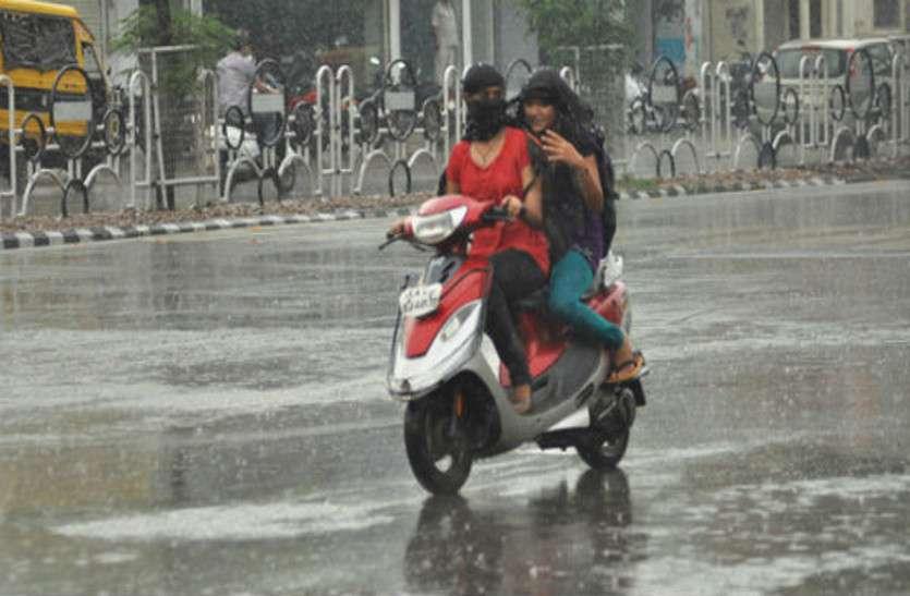 राजस्थान में बने सिस्टम का असर, बस्तर में हुई तेज बारिश