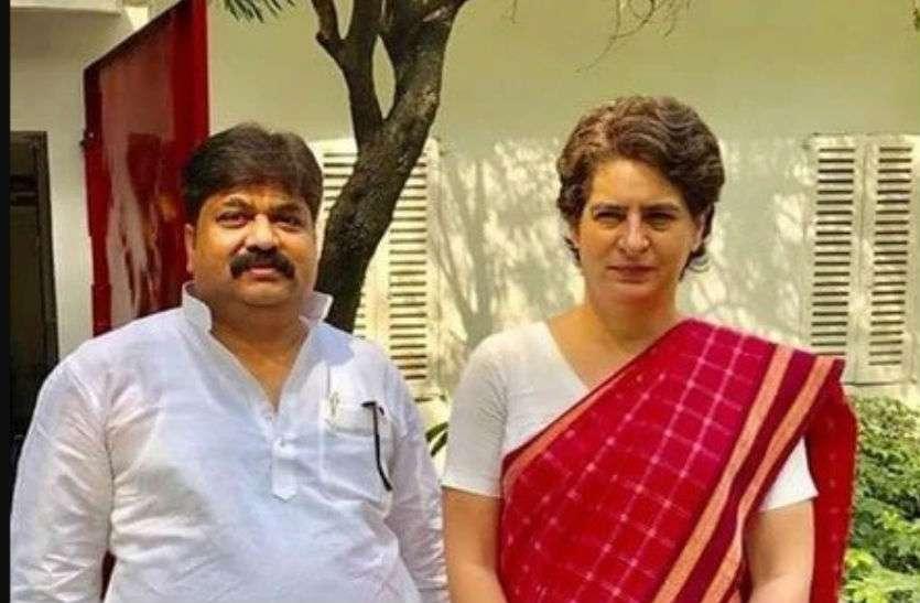 लोकसभा चुनाव: कांग्रेस में शामिल हो सकते हैं पूर्व सपा विधायक, प्रियंका से की मुलाकात