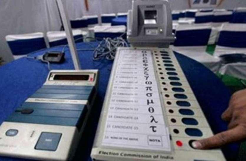 असम की पांच संसदीय सीटों पर आज मतदान