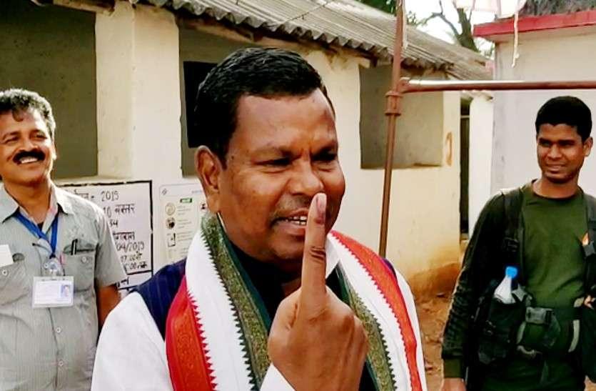मतदान के बाद मंत्री कवासी लखमा ने किया कांग्रेस की जीत का दावा, कहा - राहुल बनेंगे देश के PM