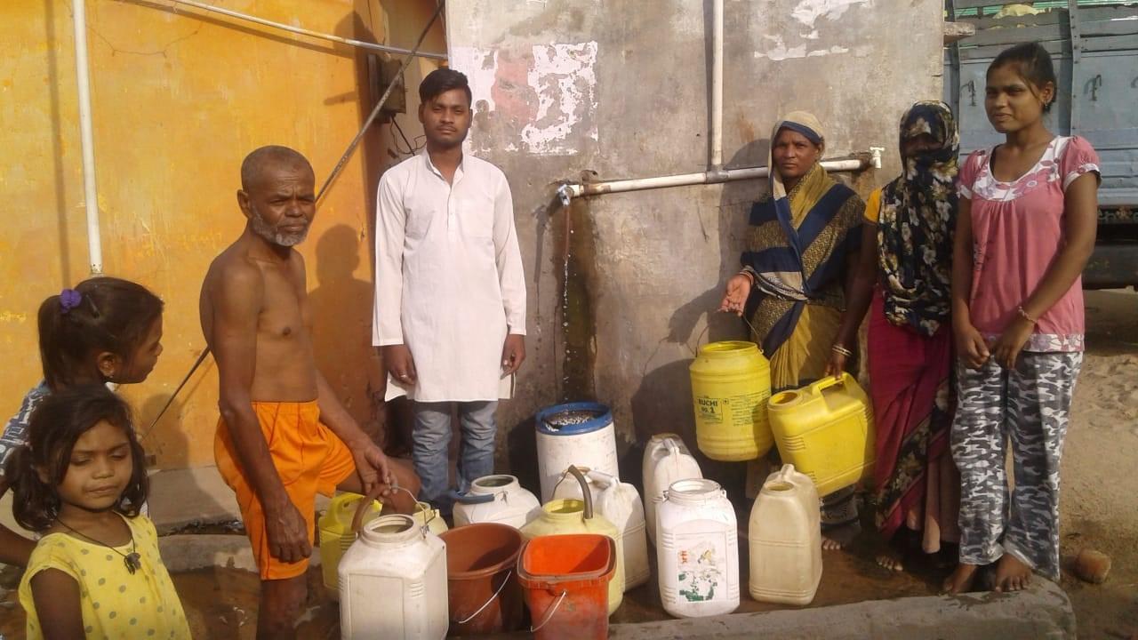 3200 परिवारों को मिल रहा एक दिन बाद 15-20 मिनट पानी, 45 हजार आबादी पर भी मंडराया जलसंकट