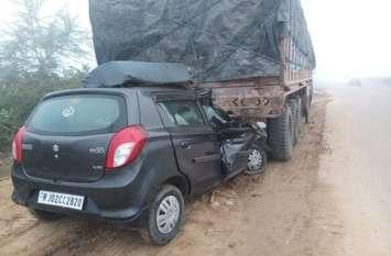 राजस्थान के इस हाइवे पर सडक़ किनारे खड़े वाहन बन रहे जान के दुश्मन, अब यहां टक्कर से 5 जनों की हुई मौत