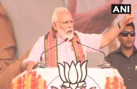 कर्नाटक के कोप्पल में गरजे पीएम मोदी, 'कांग्रेस और JDS के लिए कमीशन ही मिशन'