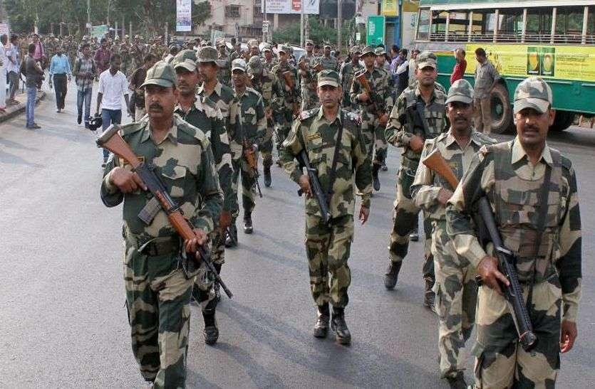 अलवर में चुनाव से पहले आएगी फोर्स, अद्र्धसैनिक बलों के 10 हजार जवान संभालेंगे जिले में मोर्चा, इतने हजार पुलिसकर्मी रहेंगे तैनात