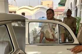 डीजीपी ओपी सिंह को लेकर आई बड़ी खबर, कार में अचानक हुआ कुछ ऐसा.. एस्कॉर्ट व स्थानीय पुलिस की अटकी सांसें