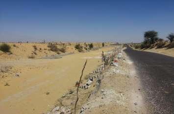 नेशनल हाइवे पर अधूरे पड़े क्षतिग्रस्त पुल,बढ़ी हादसों की आशंका