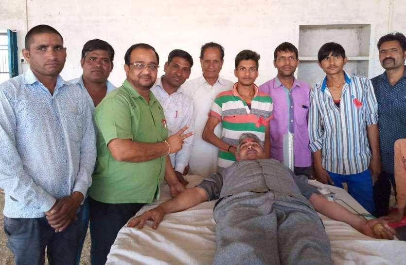 रामनवमी पर रक्तांजलि से शहीदों को श्रद्धांजलि