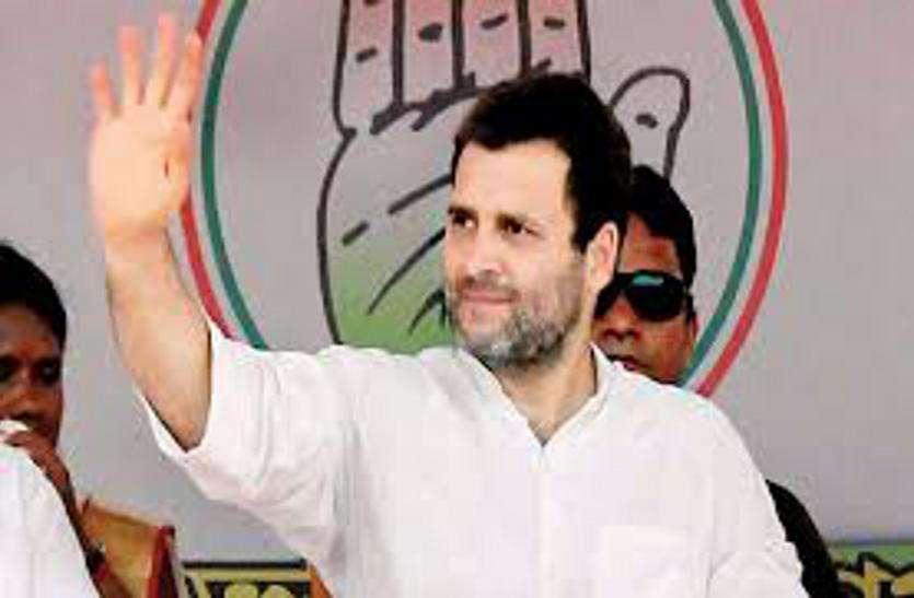 राहुल गांधी की आज भावनगर में चुनावी रैली