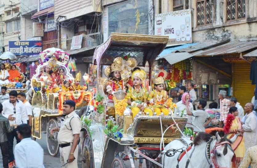 जय श्रीराम के जयघोष से गूंजी बारडोली, वीडियो में देखें अद्भुत शोभायात्रा