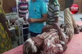 VIDEO : तखतगढ़ में टेम्पो-बाइक की टक्कर, हादसे के बाद युवक ने तोड़ा दम, एक गंभीर घायल