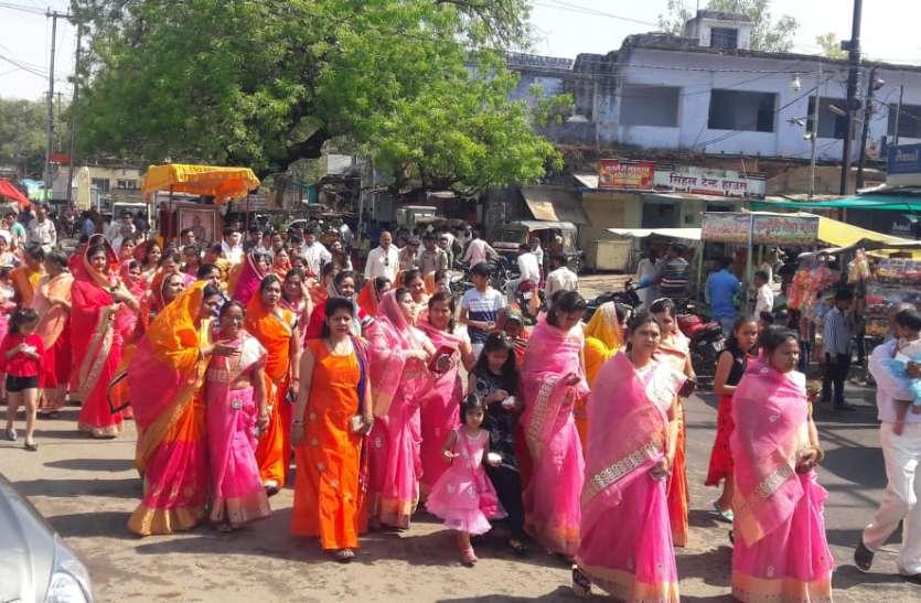 मंदिरों पर गूंजा णमाकोर मंत्र, शौभायात्रा में उमड़ा जैन समाज