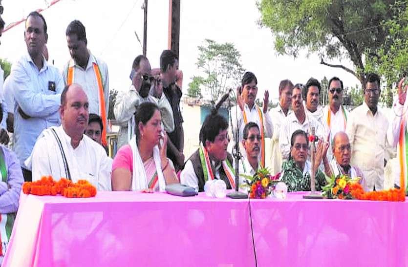 नगरीय निकाय मंत्री शिव डहरिया ने ली कार्यकर्ताओं की बैठक