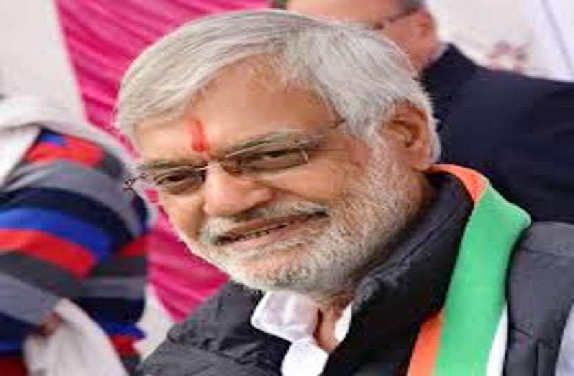 कांग्रेस के दिग्गज डॉ. सीपी जोशी के स्वागत समारोह में लगे मोदी-मोदी के नारे