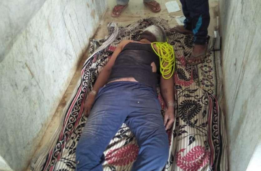 फांसी पर लटकाकर की युवक की हत्या