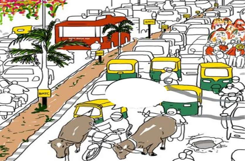बीएमसी के सामने ट्रैफिक अव्यवस्था से जूझ रहे थे लोग, झगड़े के बाद खुली पुलिस-प्रबंधन की नींद