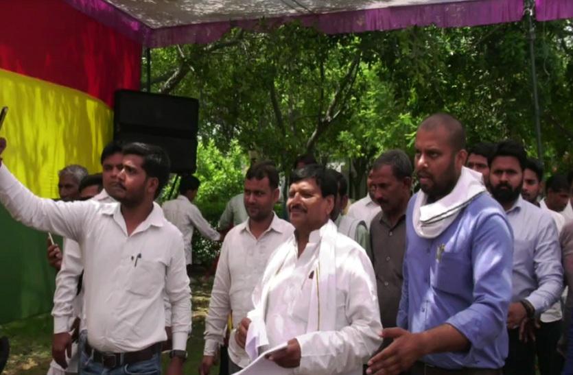 नेता जी को बडी जीत दिलाने के लिए शिवपाल के आवाहन पर सैफई हुई एकजुट, विपक्षीय पार्टियों में मचा हड़कम्प