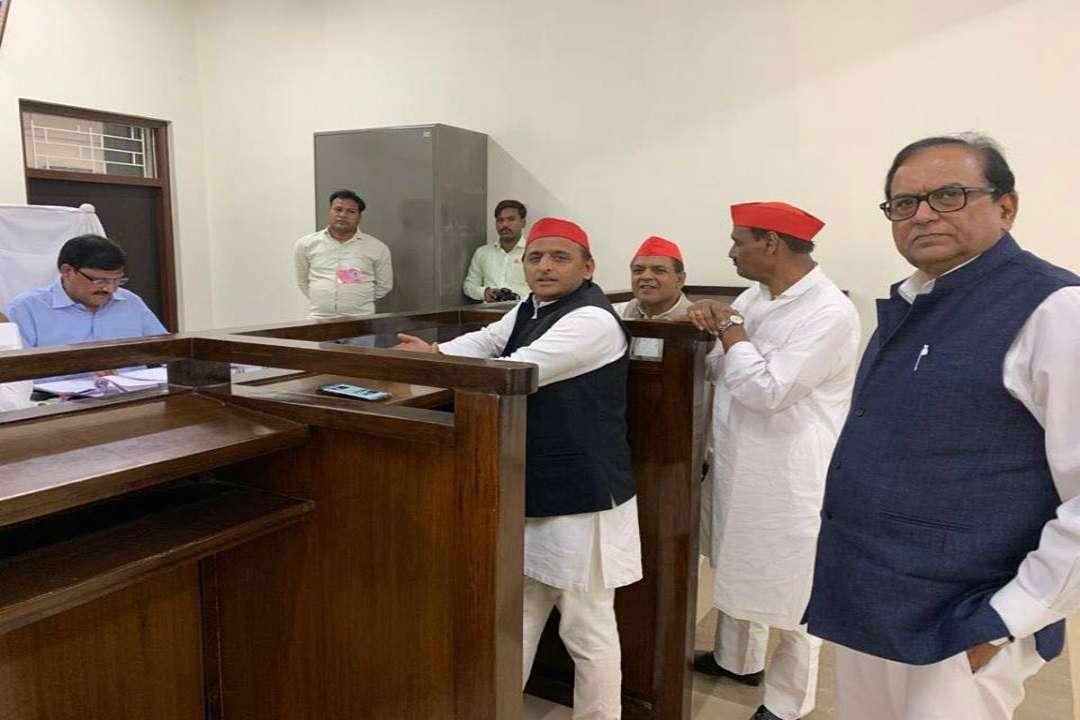 Akhilesh Yadav Nomination