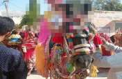 राजस्थान में दलित बेटियों की बिंदोली रोकी, बैंड बाजा बंद करवाकर घोड़ी से गिराया