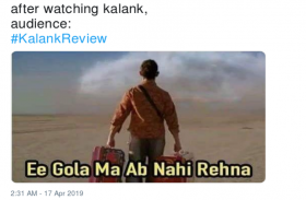 कलंक फिल्म : इस मूवी को देखने के बाद लोगों ने दिए ऐसे रिएक्शन, देखकर चकरा जाएगा आपका सिर
