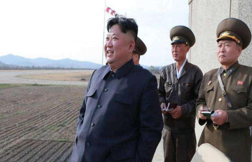 उत्तर कोरिया दोबार की नापाक हरकत, इन तस्वीरों में देखें उसके तेवर
