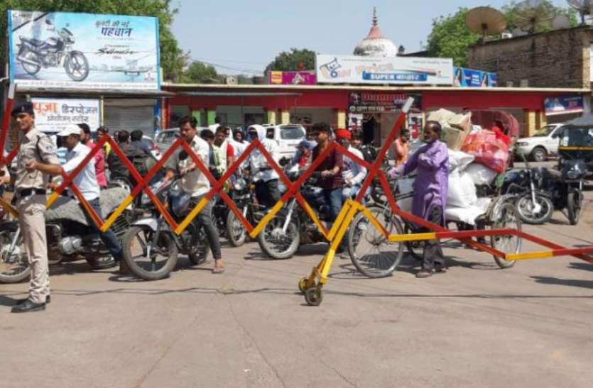 चुनावी रैलियों में भटका शहर, गली-कुलियों से निकले वाहन