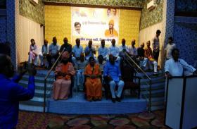 साध्वी प्रज्ञा सिंह ठाकुर ने कार्यकर्ताओं को किया संबोधित, देखें वीडियो