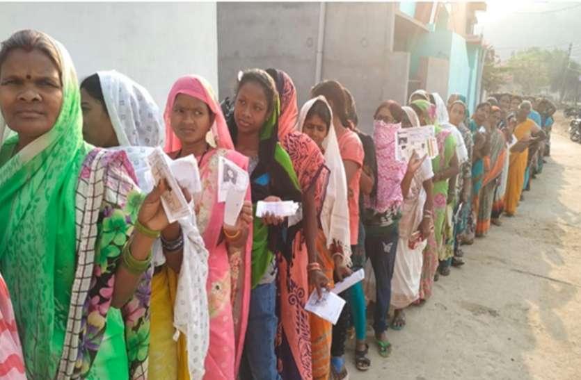 लोक सभा न्यूज़ बुलेटिन:राजनांदगावं में 54.2 प्रतिशत हुआ मतदान