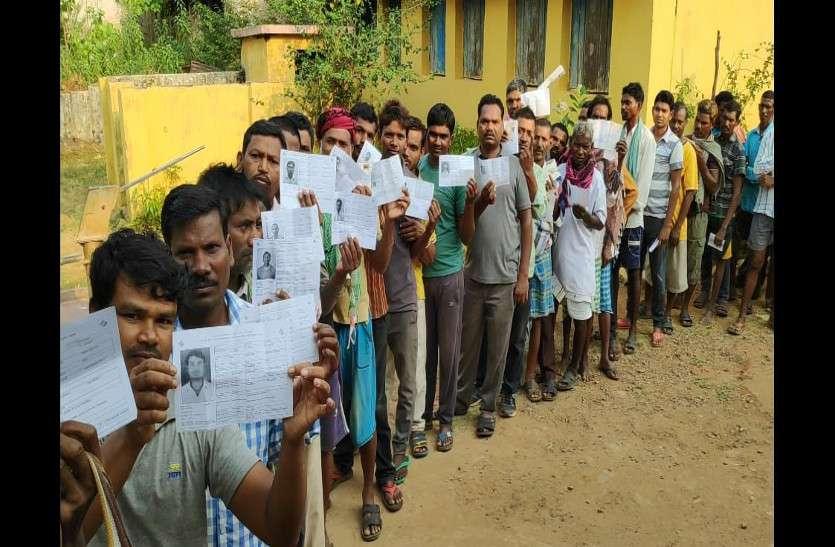 लोकसभा चुनाव में वोट डालने वोटरों में दिख रहा उत्साह, अब तक हो चुका इतने प्रतिशत मतदान
