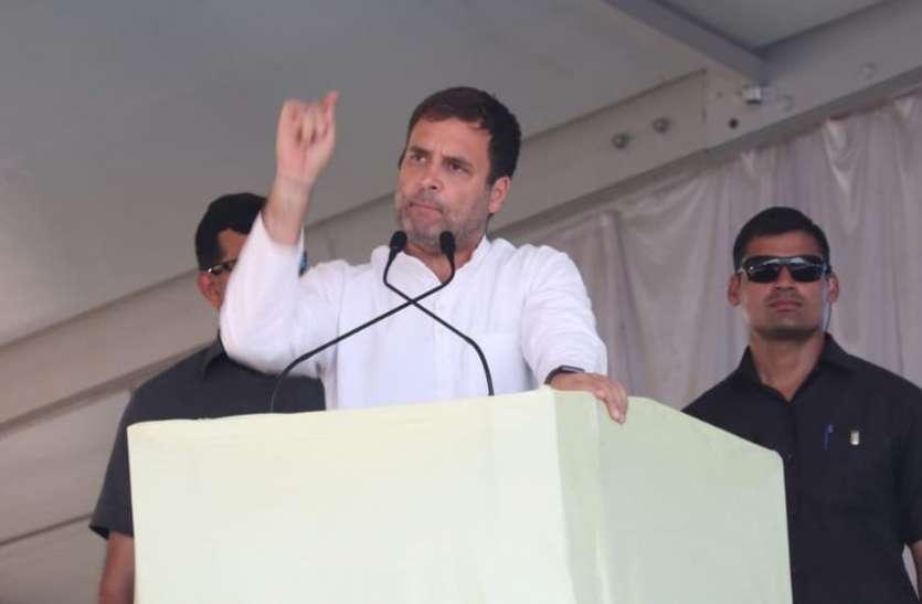 मोदी जहां भी जाते हैं झूठ बोलते हैं: राहुल