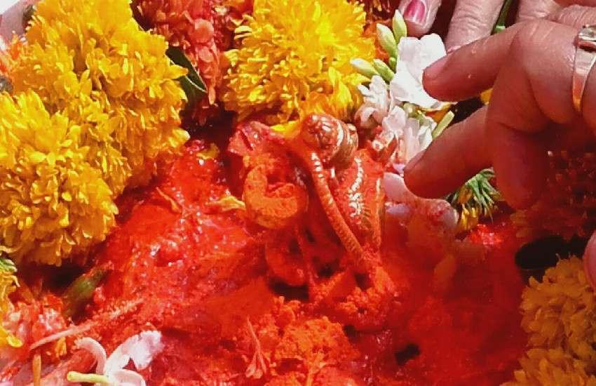 रामलला मंदिर, ग्वारीघाट