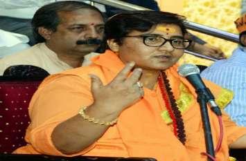 elections 2019 : साध्वी प्रज्ञा के बचाव में उतरी भाजपा, प्रभात झा ने कहा हिंदू कभी आतंकवादी नहीं हो सकता