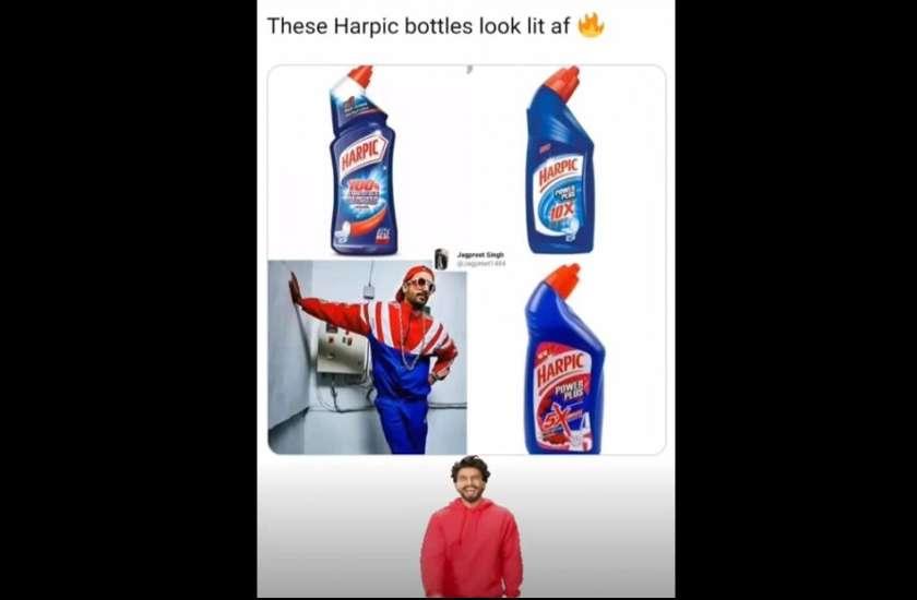 ranveer-singh-or-toilet-cleaner-bottle-trolls-his-own-fashion