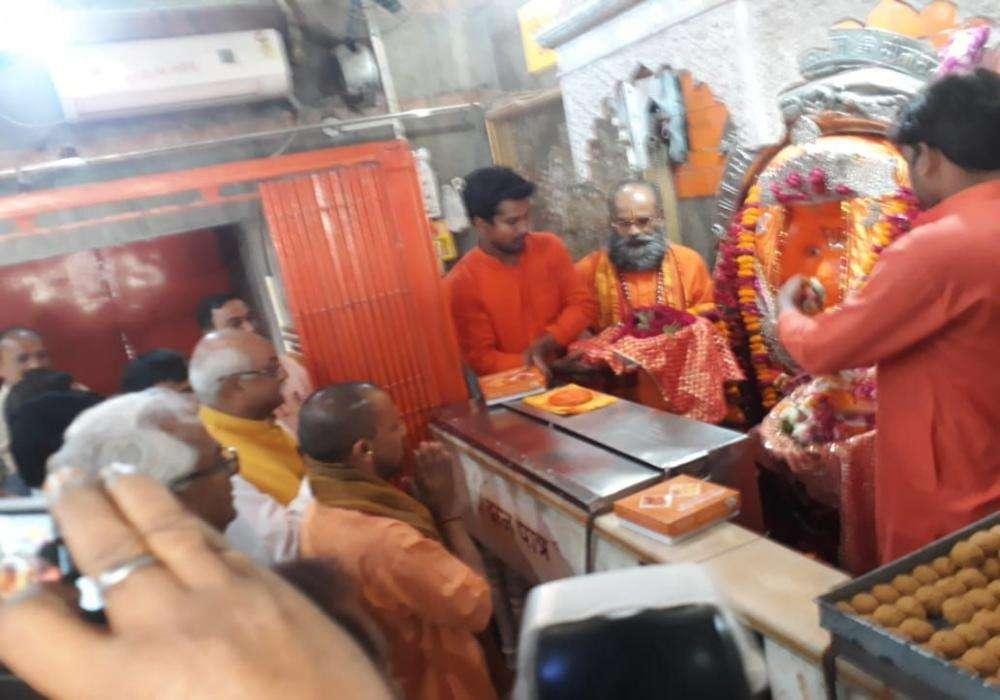 aliganj Hanuman mandir hanuman darshan