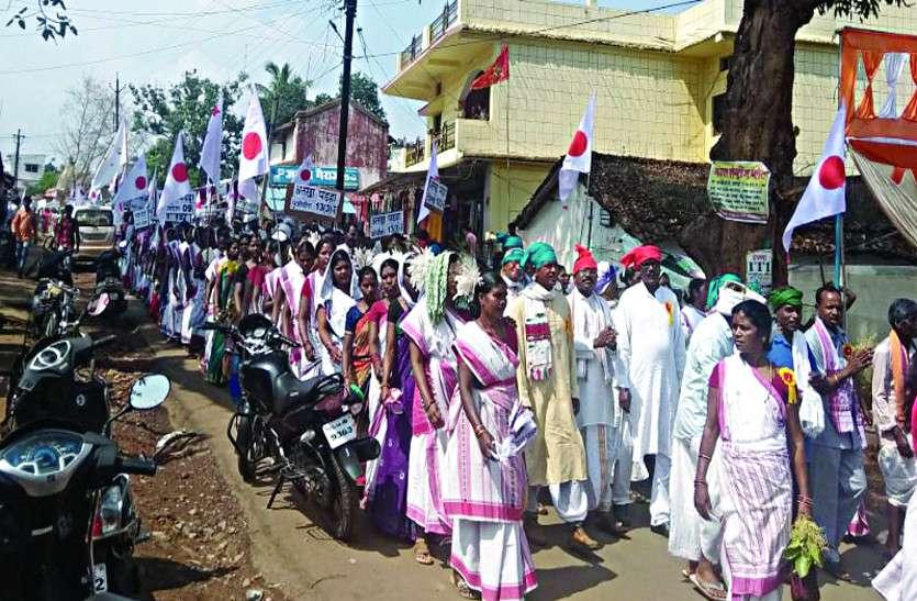 पारम्परिक हर्षोल्लास और रीति रिवाज से मनाया सरहुल का पर्व