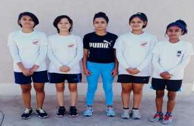 राष्ट्रीय जूनियर फुटबॉल प्रतियोगिता में शामिल होंगी जिले की चार बेटियां