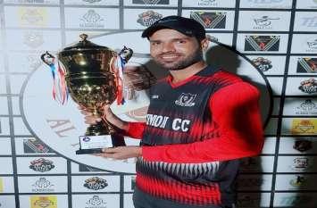शारजाह में चूरू के शमशाद ने जीता बेस्ट बोलर का खिताब