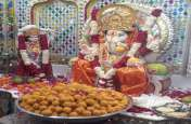 मंदिर में स्थापित हुई गणपति प्रतिमाएं, दर्शन को उमड़े श्रद्धालु