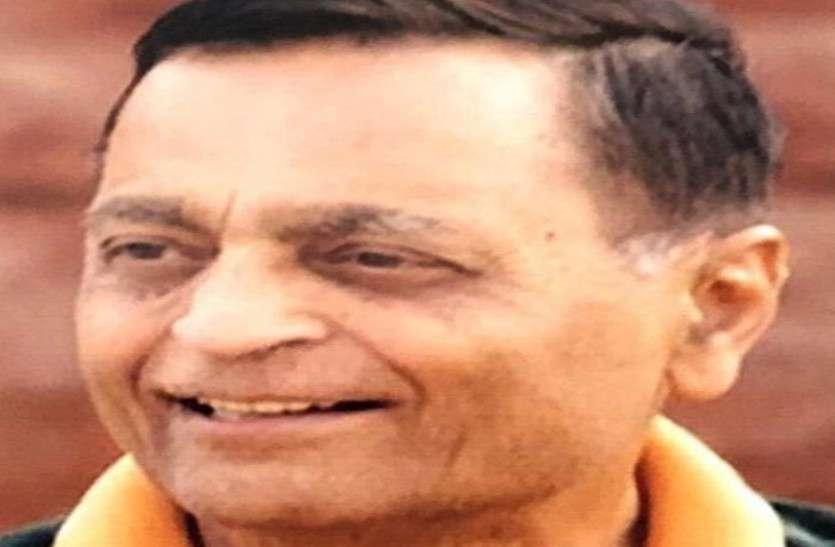 Eminent social worker Mahendra Lodha passed away, Body donated