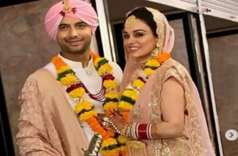 दिव्यांका त्रिपाठी के Ex शरद मल्होत्रा शादी के बंधन में बने, सामने आई खूबसूरत तस्वीरें