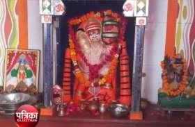 हनुमान जयंती पर शोभायात्रा में हनुमानजी की सजाई मनमोहक सजीव झांकी
