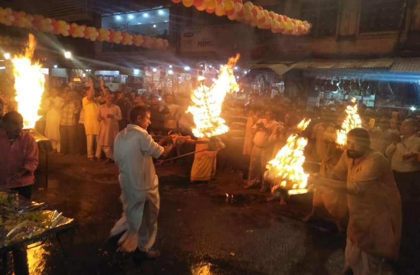 Hanuman Jayanti celebrated in Katni